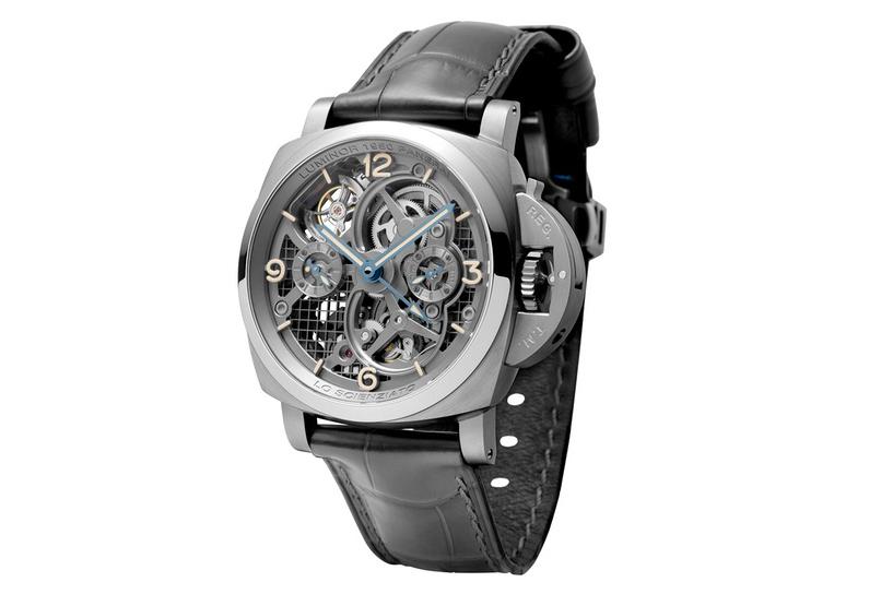 Panerai Reveals the Lo Scienziato Luminor 1950 Tourbillon GMT Titanio Watch
