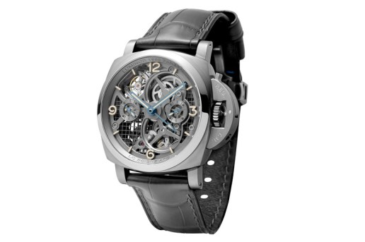 Panerai Reveals the Lo Scienziato Luminor 1950 Tourbillon GMT Titanio Watch