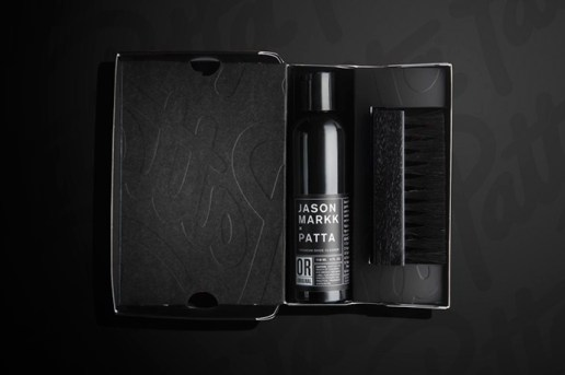 Patta x Jason Markk Present a Blacked-Out Sneaker Cleaning Kit