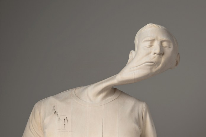 Paul Kaptein's Warped Wood Sculptures Are Trippy and Amazing