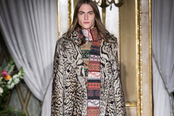 Peter Dundas Debuts His First Menswear Collection With Roberto Cavalli