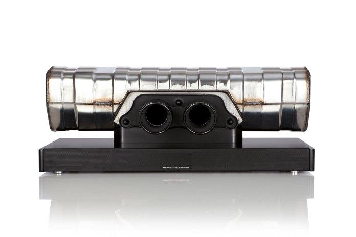 Porsche Design Converts the Exhaust of a 911 GT3 Into a High-Performance Soundbar