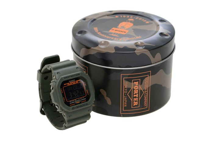 Porter Gets Its Very Own G-SHOCK