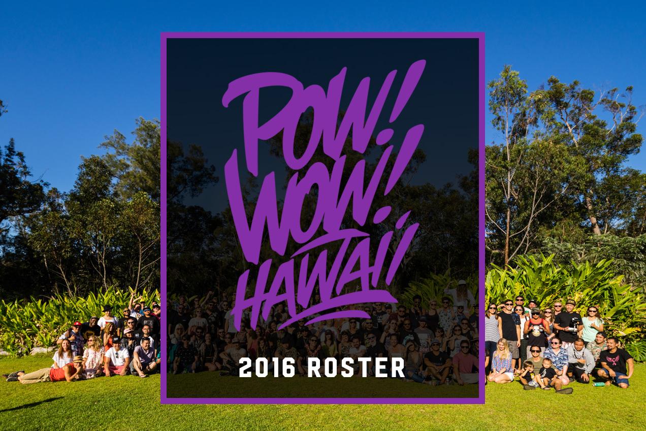 Tristan Eaton, Kevin Lyons & jeffstaple Headline POW! WOW! Hawaii 2016