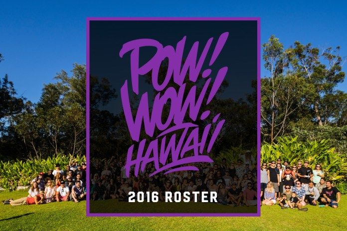 Tristan Eaton, Kevin Lyons & jeffstaple Headline POW! WOW! Hawaii 2016