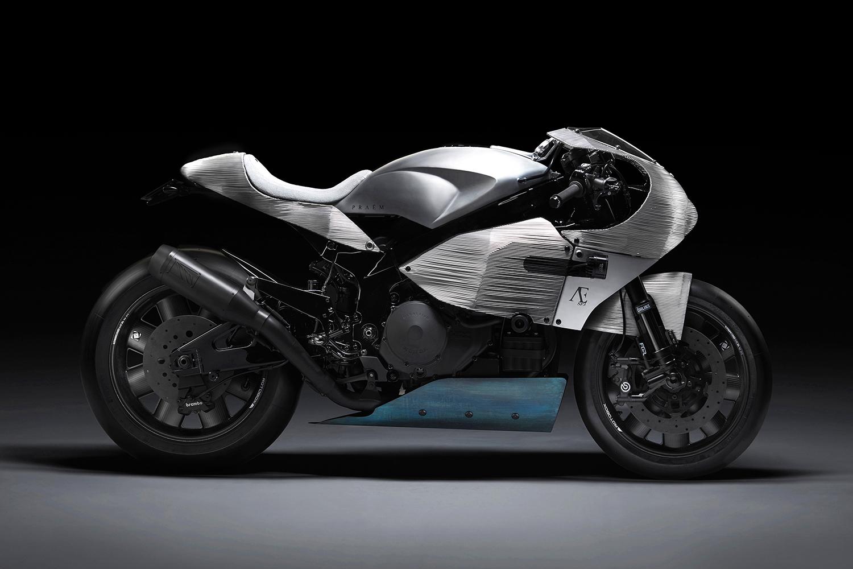 PRAËM Transforms a Honda VTR1000 Into Its First Custom Creation