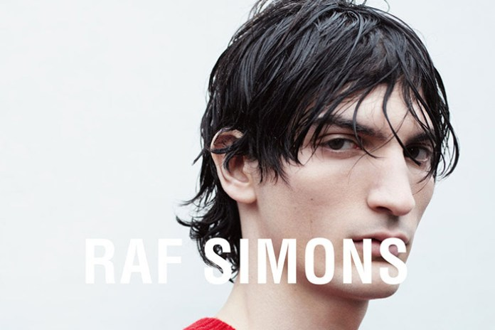 Check out Raf Simons' 2016 Spring/Summer Campaign Shot by Willy Vanderperre