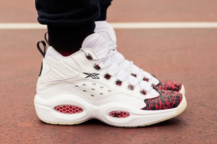 "Reebok Revisits Allen Iverson's First Signature Shoe With the Question's ""Prototype"""