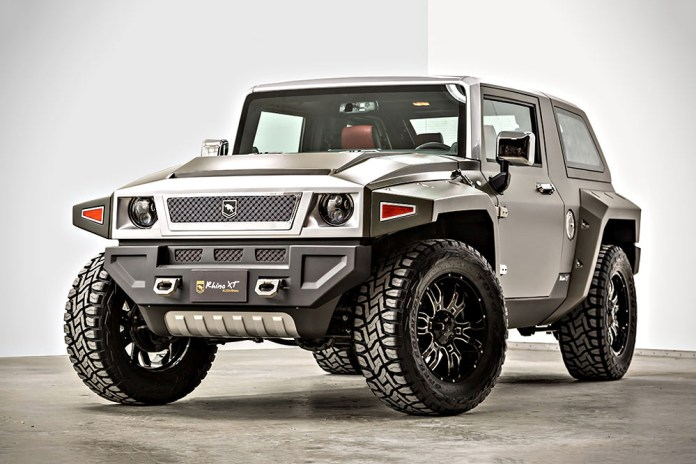 The Rhino XT Is the Hummer's Better Looking Cousin