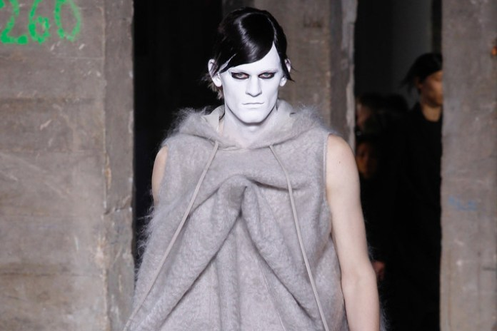 Rick Owens Horrifies With His 2016 Fall/Winter Collection