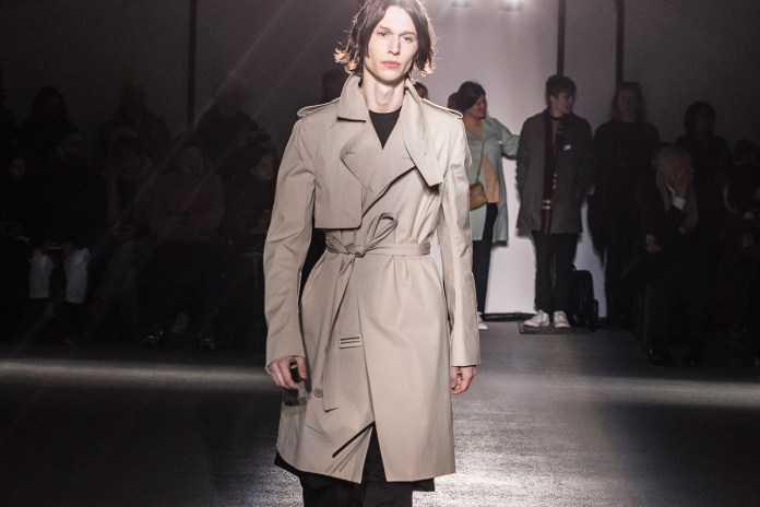 A Front Row Look at the Rick Owens 2016 Fall/Winter Collection