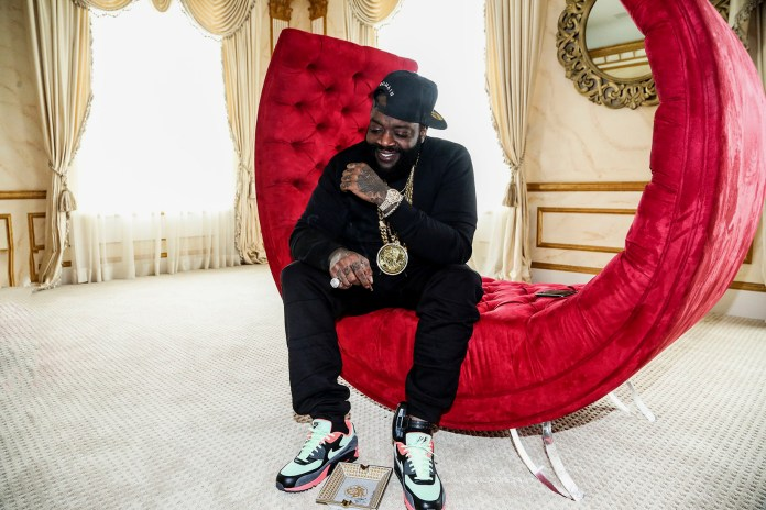 Here's What Rick Ross's 40th Birthday Party Looked Like