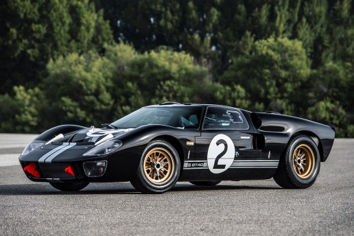 Shelby Replicates the 1966 GT40 Mk. II for Its 50th Anniversary