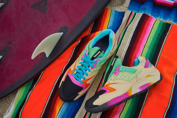 Shoe Gallery & Saucony Hit the Beach