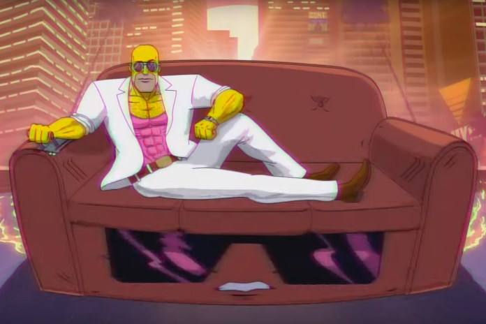 'The Simpsons' Goes Retro in New Couch Gag
