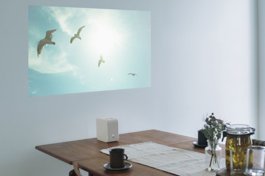 Sony's New Hi-Def Projector Is Super Portable and Sleek
