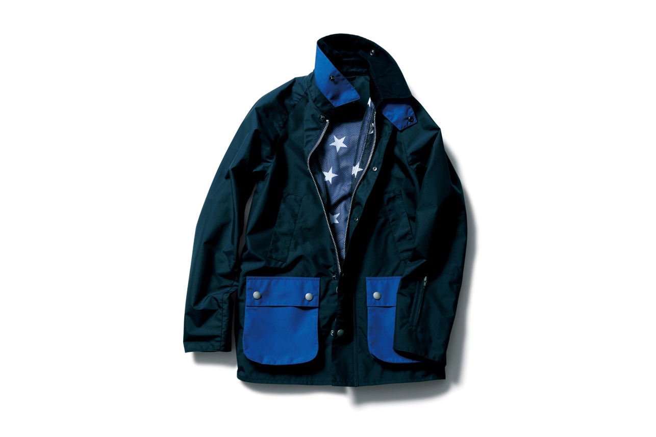 SOPHNET. Gives the Barbour Bedale a Makeover