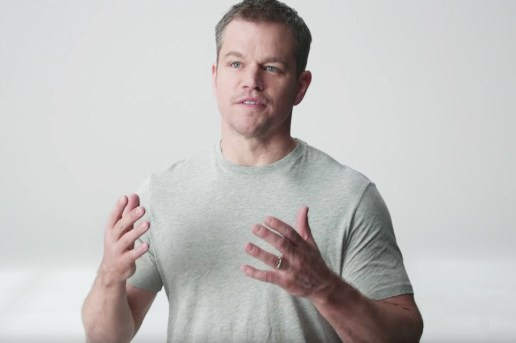 "Matt Damon Asks You to ""Buy a Lady a Drink"" in Stella Artois' New Charitable Campaign"