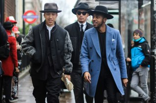 Streetsnaps: London Collections Men 2016 Fall/Winter