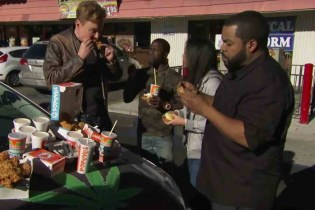 Conan, Ice Cube, Kevin Hart, and a Student Driver Hit up a Dispensary and Popeyes