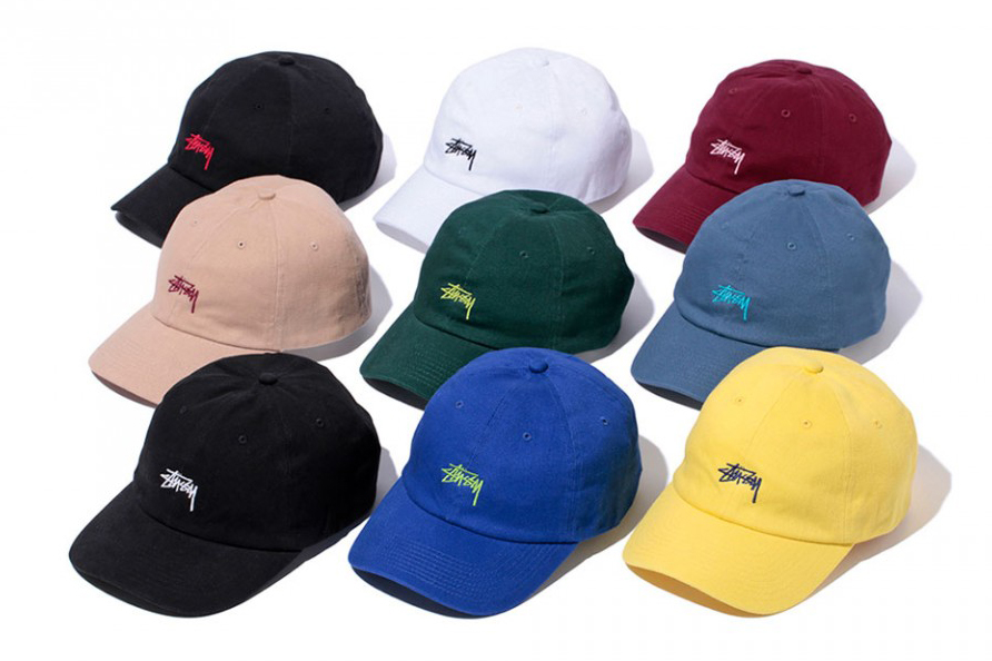 Stussy 2016 Spring Stock Logo Chapter Lo Pro Strapback Collection