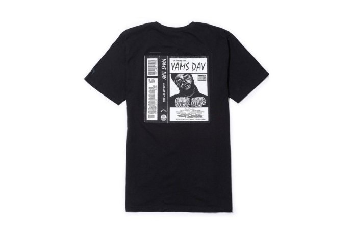 """Stussy Pays Tribute to A$AP Yams With This """"YamsDay"""" T-Shirt"""