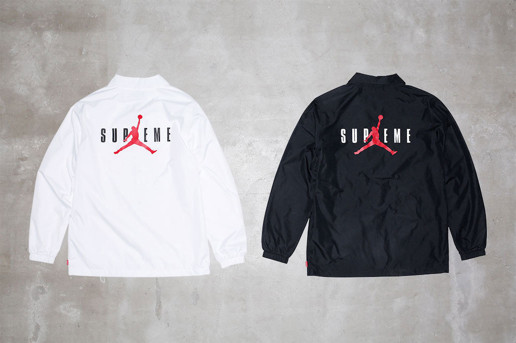 You Can Now Cop the Supreme x Jordan Apparel Range at Nike Outlets