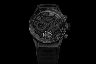 TAG Heuer Reveals the All-Black Carrera Heuer-02T Tourbillon