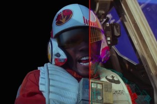 Beautifully Edited Visual Effects Breakdown From 'Star Wars: The Force Awakens'