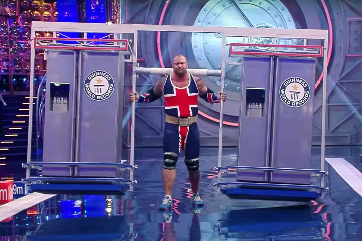 The Mountain from 'Game of Thrones' Breaks the World Record for Fridge Carrying