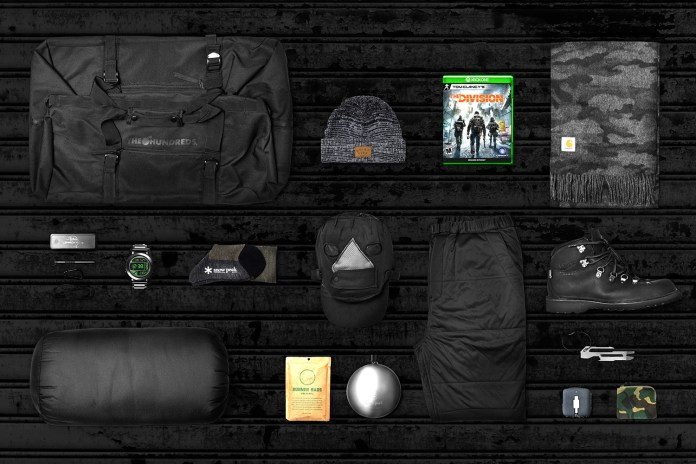HYPEBEAST and 'Tom Clancy's: The Division' Are Giving Away a Special Survival Bag