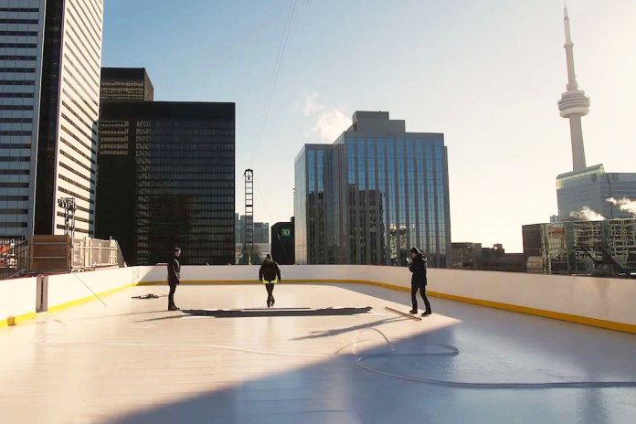 Toronto Builds Its First Rooftop Ice Rink