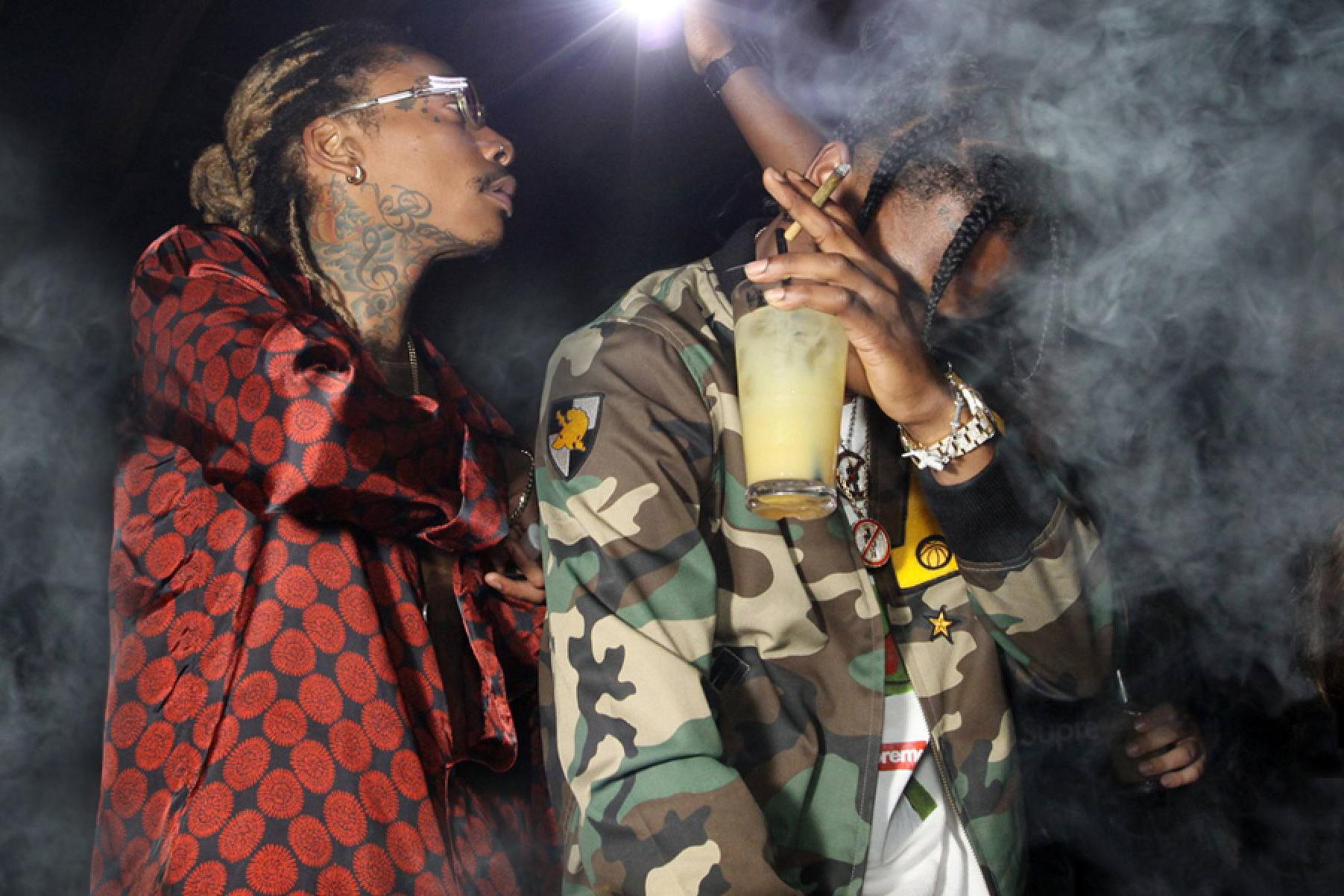 "Wiz Khalifa Enlists Travi$ Scott and Juicy J for ""Bake Sale"""