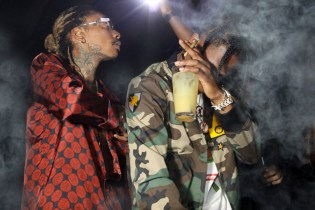 "Wiz Khalifa Enlists Travi$ Scott and Juicy J for ""Bake Sale"""
