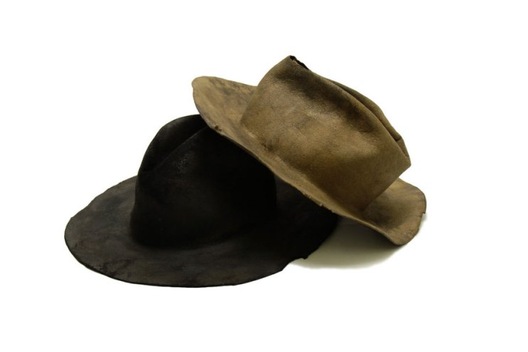 READYMADE and UNITED ARROWS & SONS Craft Vintage Headwear Pieces