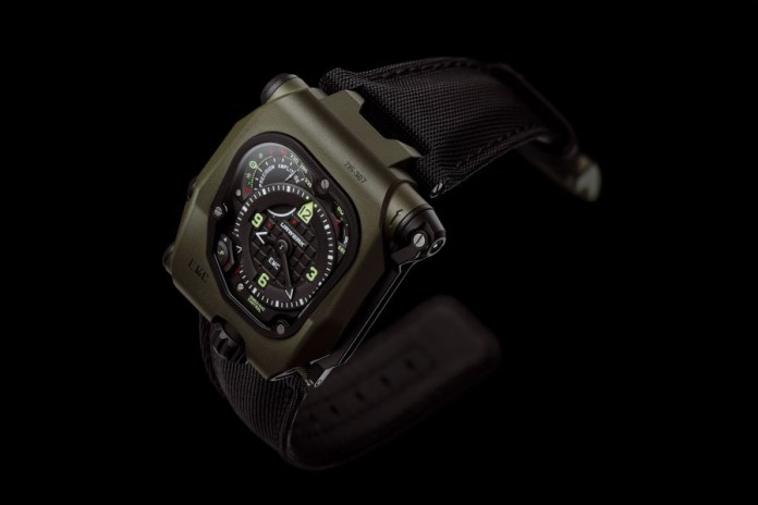 Urwerk EMC Time Hunter Ceramic