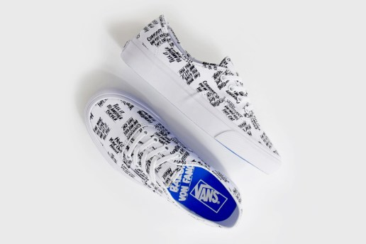Vans Enlists Artist Baron Von Fancy for New Authentic Collaboration
