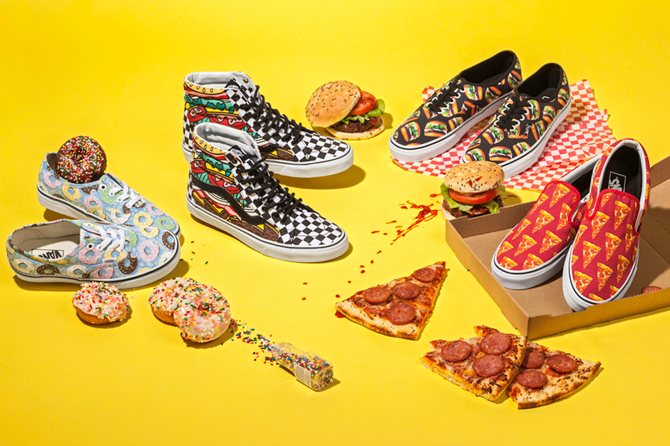 """The Vans """"Late Night"""" Pack Will Make You Unreasonably Hungry"""