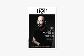 Vetements' Demna Gvasalia Covers 'Business of Fashion' Issue 06