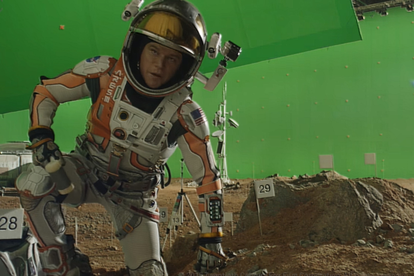 Watch VFX Highlight Reel for 'The Martian'