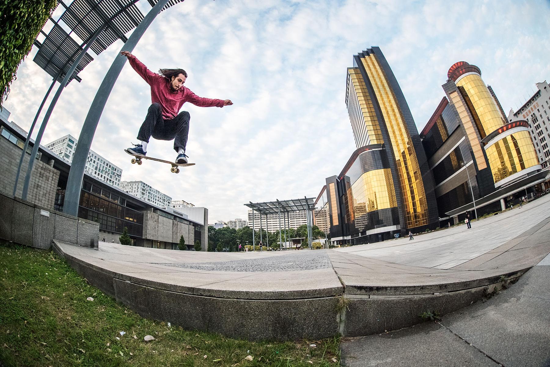 "VICTORIA and L.I.F.E. Skate the Gambling Capital of the World In ""BRACK PREE"""