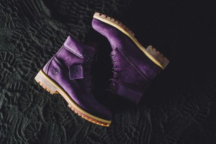 "VILLA Follows Its 2015 ""Emerald"" Timberland Collab With a ""Purple Diamond"" Sequel"
