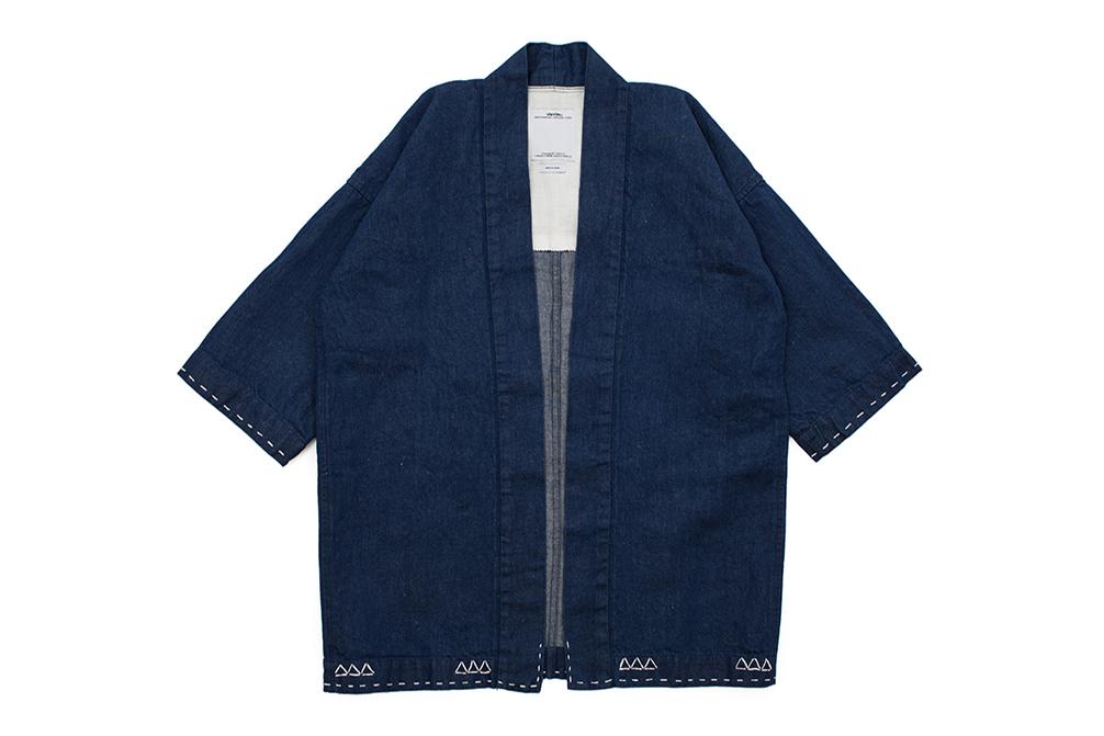 The New visvim Sanjuro Kimono Features Intricate Hand-Stitched Details