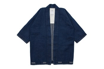 The New visvim Sanjuro Kimono Features Intricate Hand-Stitched Details