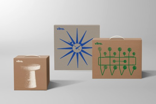Vitra Introduces New Minimalistic Packaging