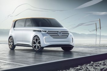 Volkswagen's BUDD-e Microbus Is Straight out of the Future