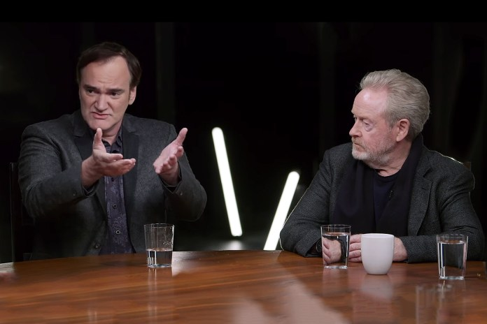 Watch Quentin Tarantino, Ridley Scott & More Sit Through Uncensored Director's Roundtable Discussion