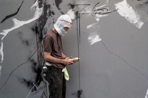 Futura Painted a New Mural in the Bowery and WATCHxWITNESS Captured the Whole Thing