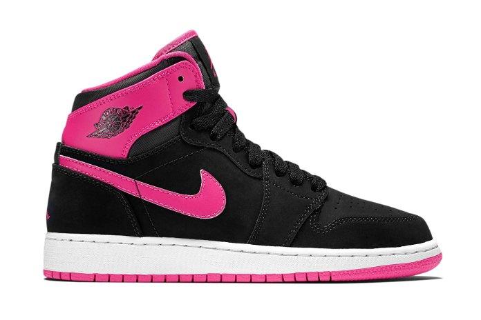 "Air Jordan 1 High WMNS GS ""Vivid Pink"""