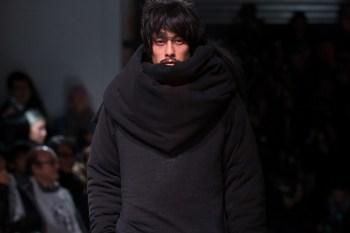 Yohji Yamamoto's 2016 Fall/Winter Collection Draws Cues From Asylum Seekers